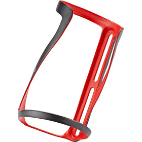 Blackburn Side-Entry Bidonhouder Carbon Rechts, matte bright red